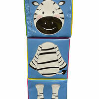 Jungle animal blocks for soft play centres