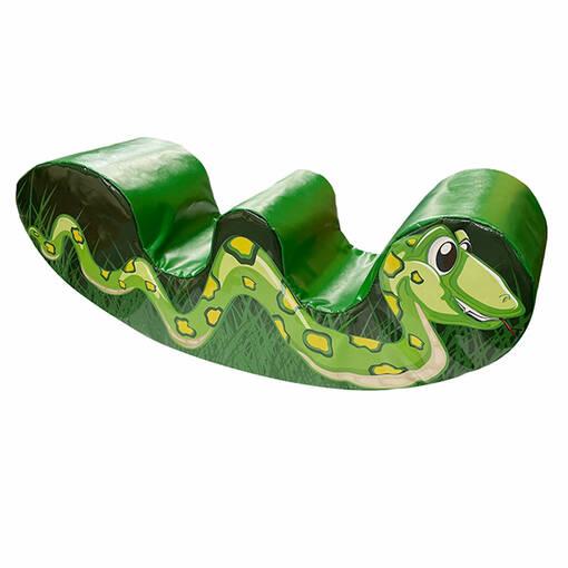 Double rocker snake soft play shape