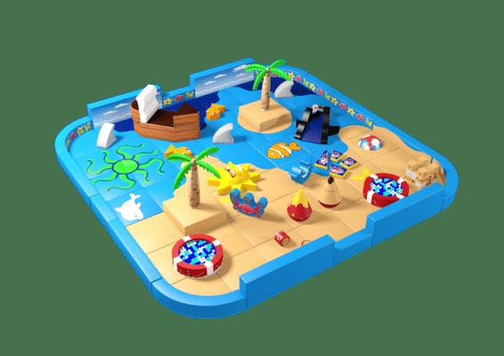 Beach theme pack away soft play demountable
