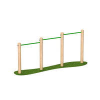 Chin Up Bars Outdoor Timber Playground Equipment Exercise Equipment