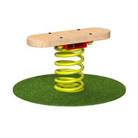Wobble Balance Board Outdoor Timber Playground Equipment