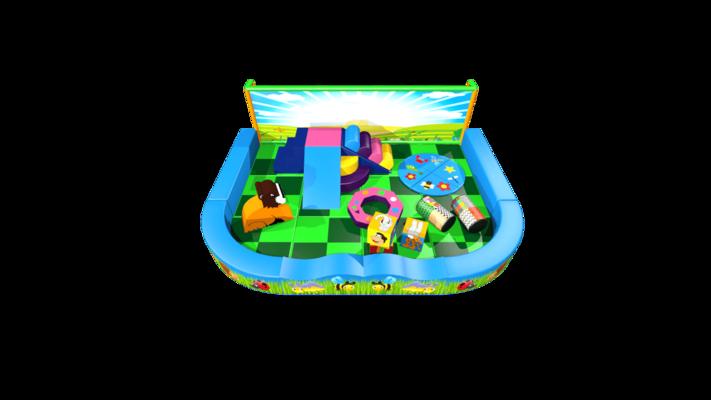 Forest pack away demountable soft play design