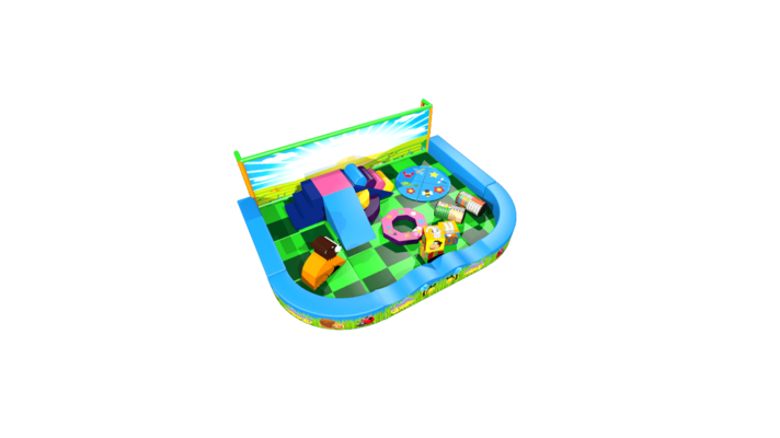 Forest pack away demountable soft play design