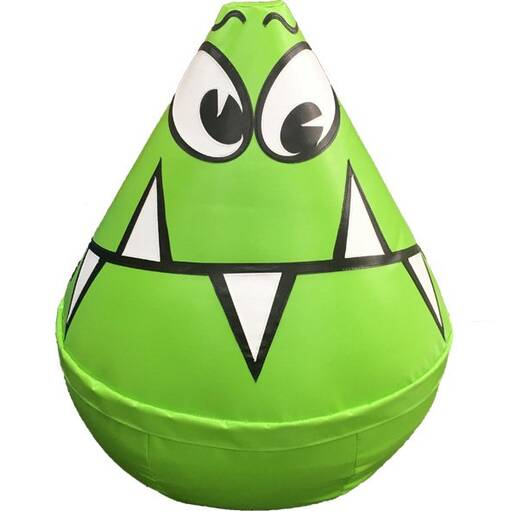 Alien monster wobbly character soft play shape indoor playground equipment