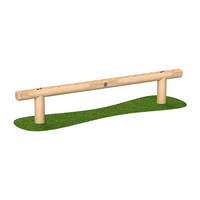 Log Balance Timber Outdoor Playground Equipment