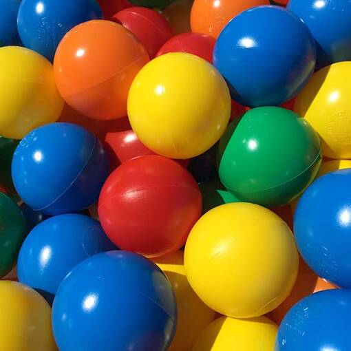 Multi colour ball pool pit balls soft play indoor playground equipment