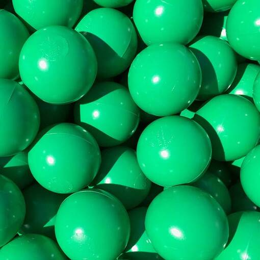 Green ball pool pit balls soft play indoor playground equipment