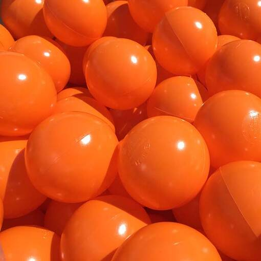 Orange ball pool pit balls soft play indoor playground equipment