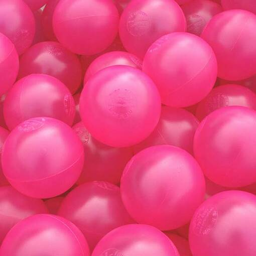 Pink ball pool pit balls soft play indoor playground equipment