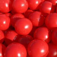 Red Ball Pool Pit Balls Soft Play Indoor Playground Equipment
