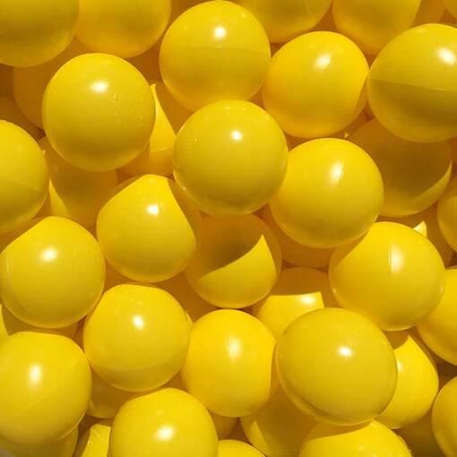 Yellow ball pool pit balls soft play indoor playground equipment