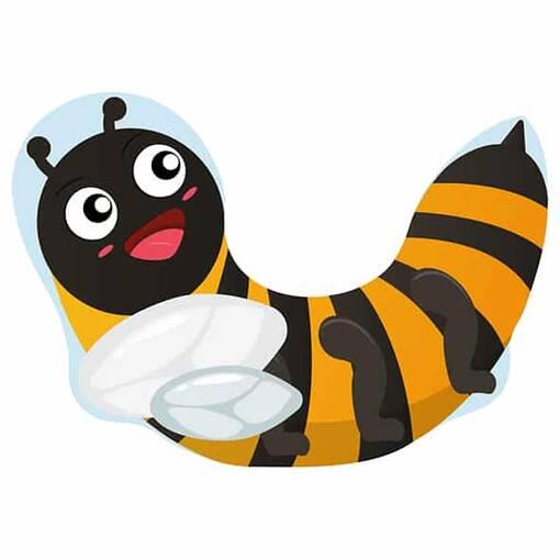Bumble bee rocker indoor playground soft play equipment