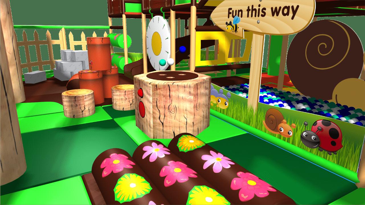 Farmyard indoor playground soft play centre design