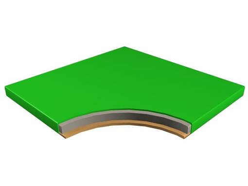 Board section floor padding soft play indoor playground trampoline park agility course sensory room design maintenance