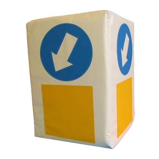Bollard car theme role play block soft play indoor playground equipment