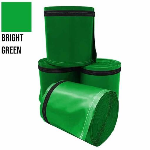 Bright green 5 metre pole wrap
