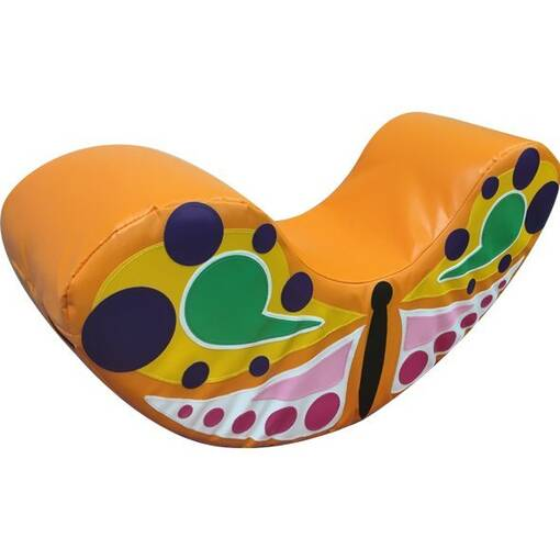 Butterfly soft play rocker indoor playground equipment