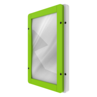Green White Reflective Mirror Interactive Activity Panel Wall Mounted
