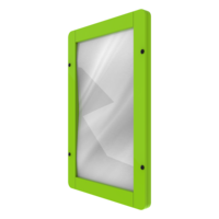 Green Reflective Mirror Interactive Activity Panel Wall Mounted