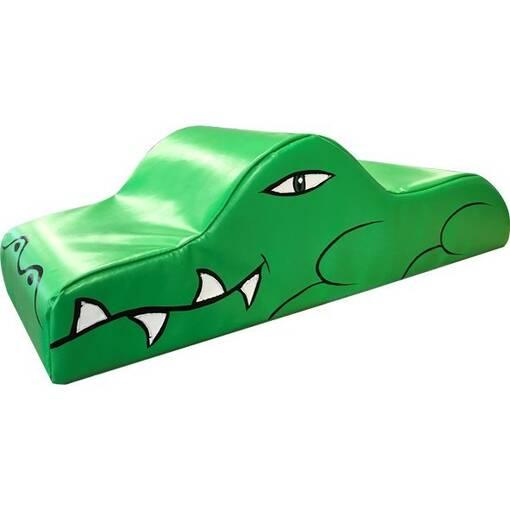 Crocodile alligator soft play rocker shape indoor playground equipment