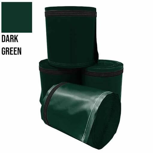 Dark green 5 metre pole wrap