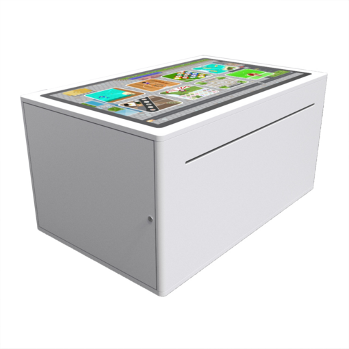 Digital games activity table panel free standing interactive features