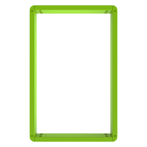 Green activity panel frame wall mount interactive features