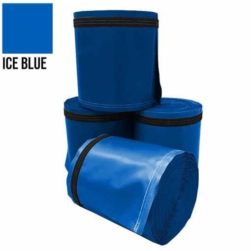 Ice blue 5 metre pole wrap