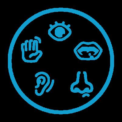 Sensory room equipment icon