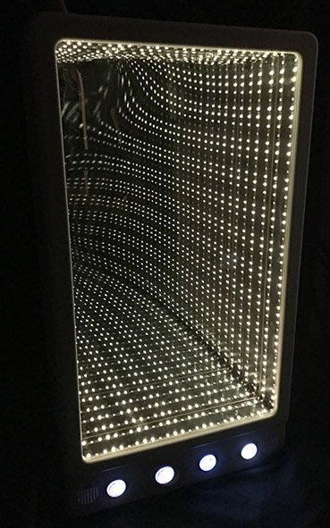 White led infinity panel interactive colour changing sensory room equipment
