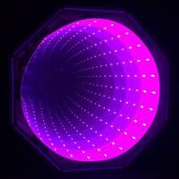 Pink Infinity Tunnel Panel LED Sensory Room Equipment