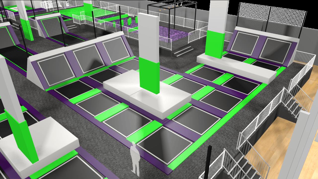 Limitless swansea trampolin 2