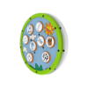 White Green Animal Matching Activity Wheel Interactive Features