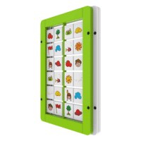 Interactive Wall Panel Memory Activity