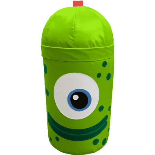 Green monster alien bash bag indoor playground soft play equipment