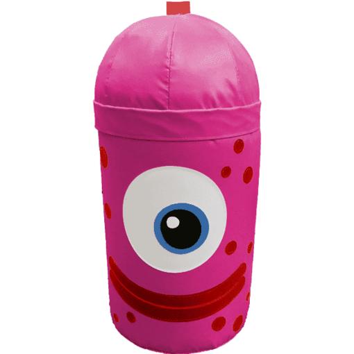 Pink monster alien bash bag indoor playground soft play equipment