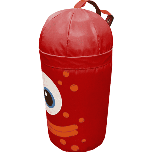 Red monster alien bash bag indoor playground soft play equipment