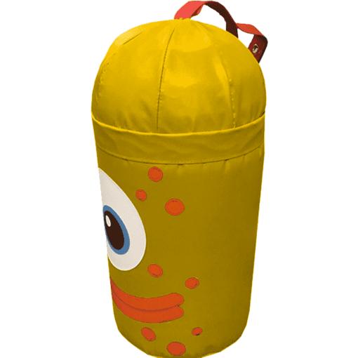 Yellow monster alien bash bag indoor playground soft play equipment