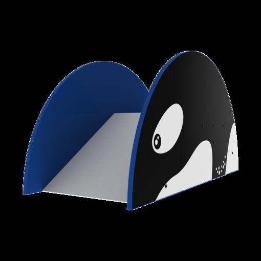 Orca theme indoor playground soft play slide equipment