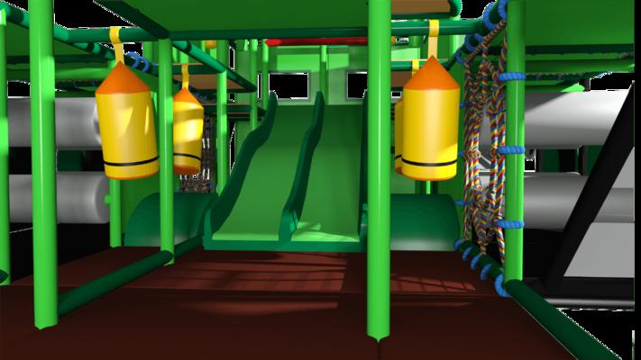 Tank indoor playground soft play centre design