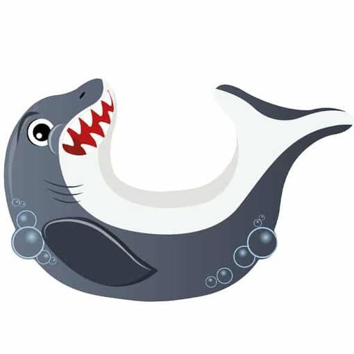 Shark soft play rocker indoor playground equipment