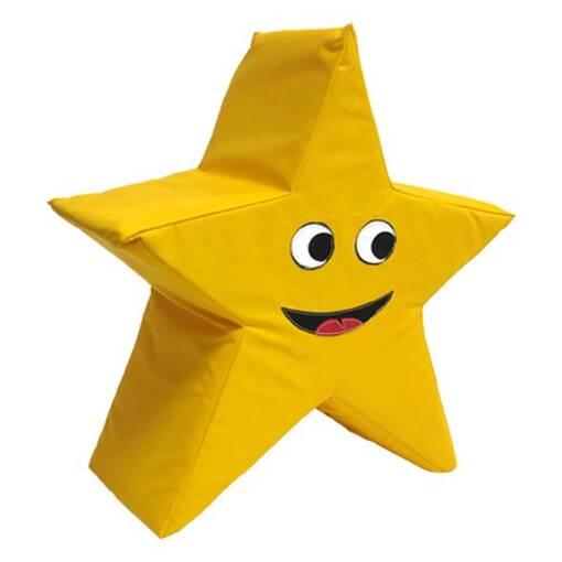 Star soft play shape indoor playground equipment