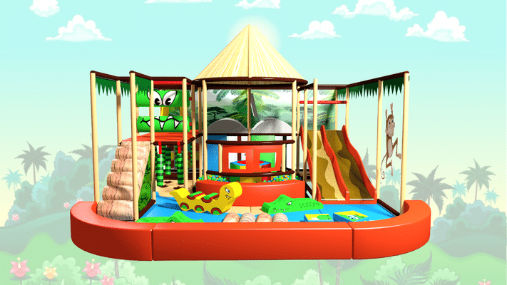 Jungle Indoor Playground Soft Play Design