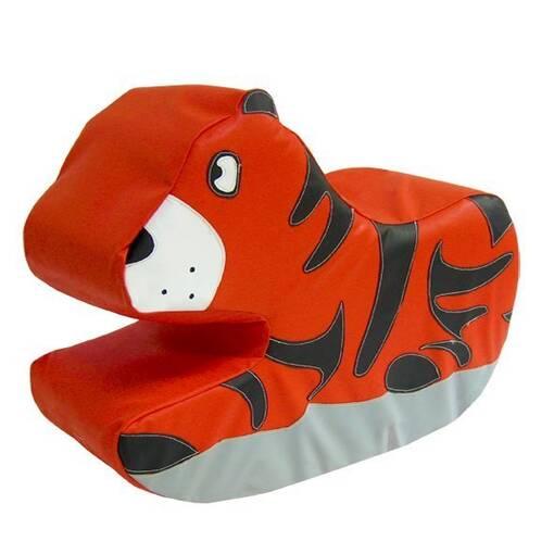 Tiger soft play rocker indoor playground equipment