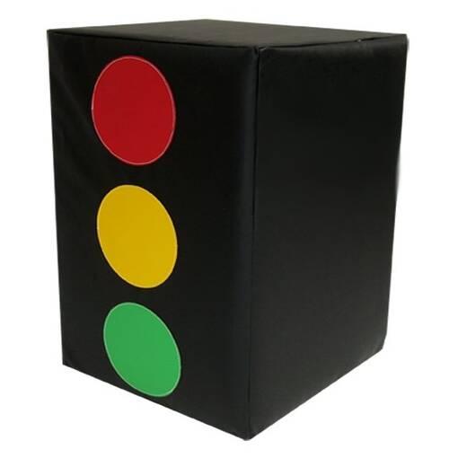 Traffic light car theme role play block soft play indoor playground equipment