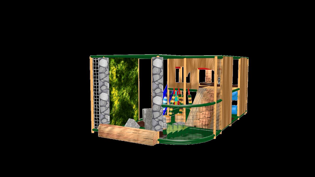 Adventure indoor playground soft play design