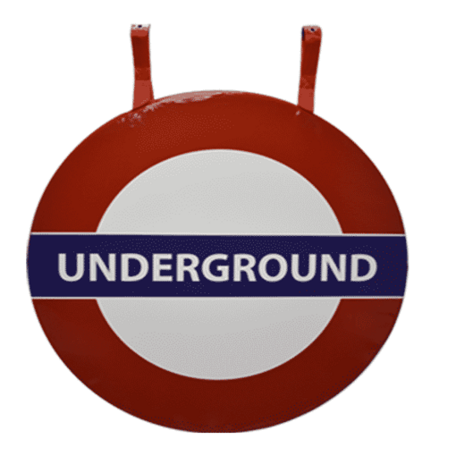London underground sign bash bag soft play indoor playground equipment