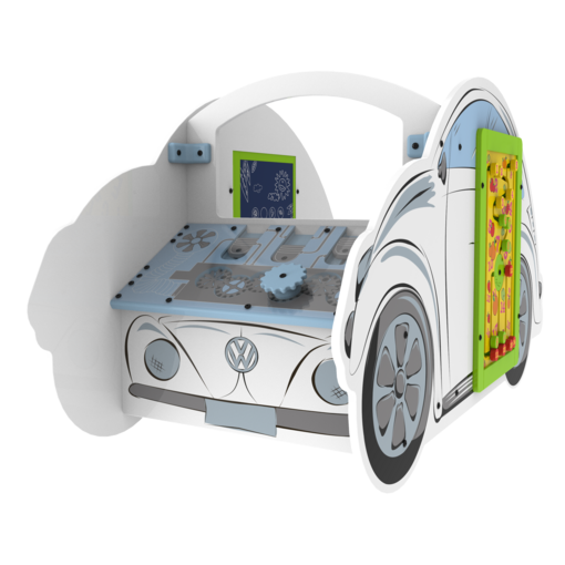 Vw beetle car theme activity panel play structure interactive features