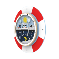 Arctic theme life saver activity wheel back plate