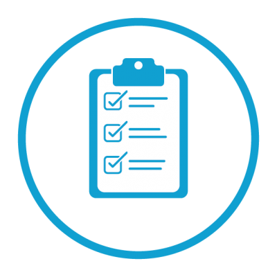 Planning standards check list icon